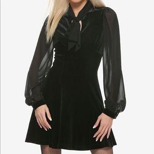 Hell Bunny Estelle Black Dress